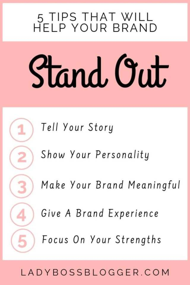 brand stand out ladybossblogger