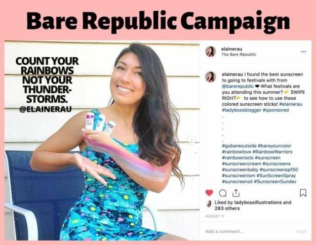 elaine rau influencer campaign ladybossblogger