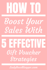 Effective Gift Voucher Strategies