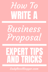 business proposal ladybossblogger