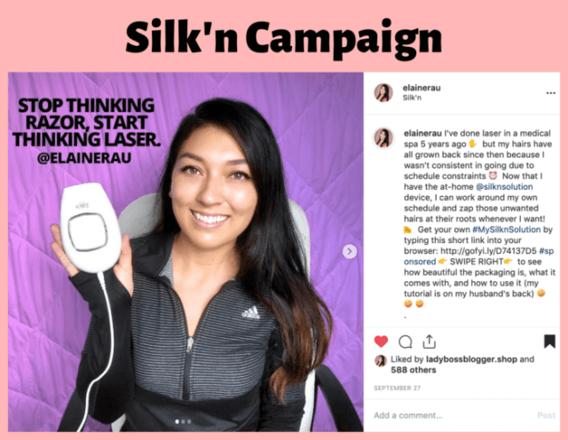 elaine rau influencer campaign successful13