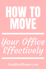 How To Move Your OfficeLadyBossblogger