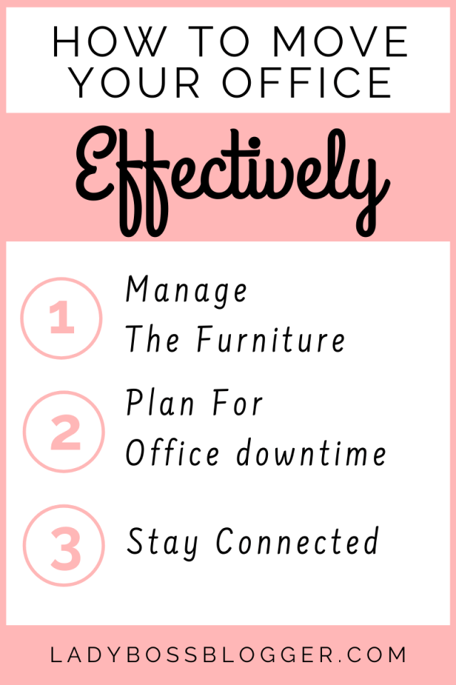 How To Move Your Office Elaine Rau LadyBossBlogger.com
