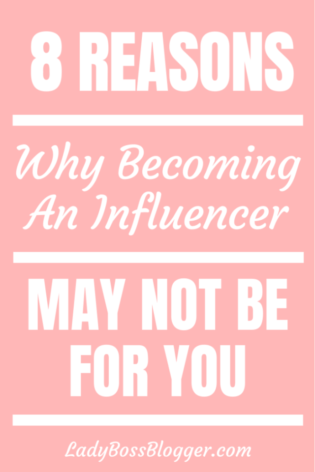 becoming influencer ladybossblogger