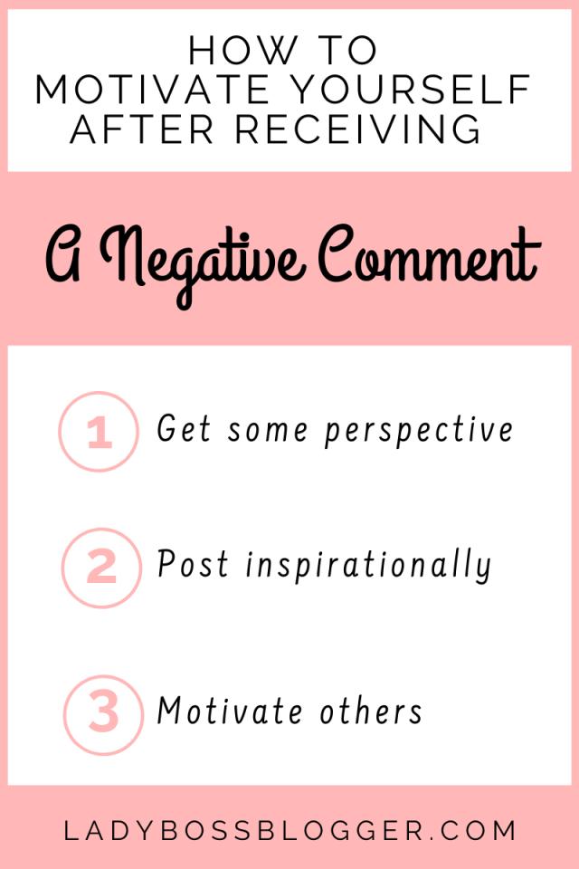 receiving negative comments ladybossblogger.com