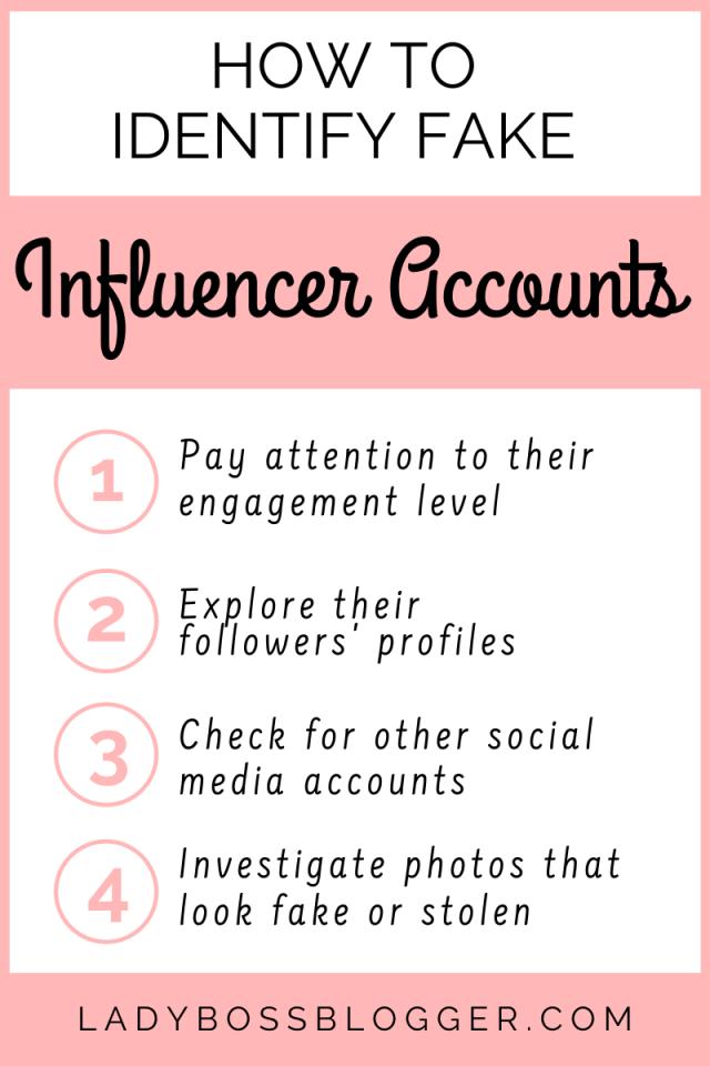 fake influencer ladybossblogger.com