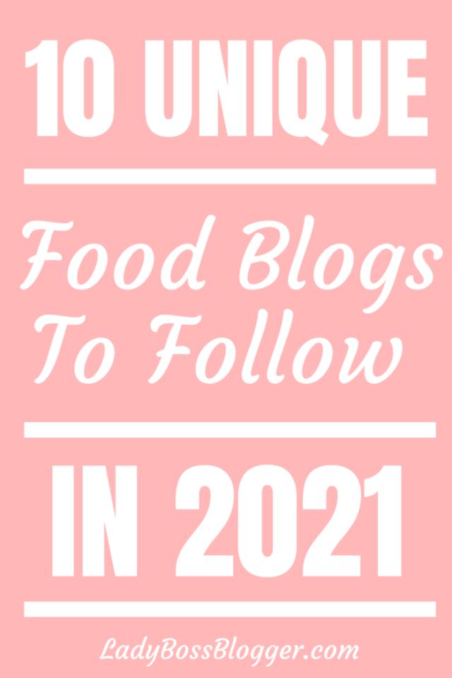 unique food blogs LadyBossBlogger.com