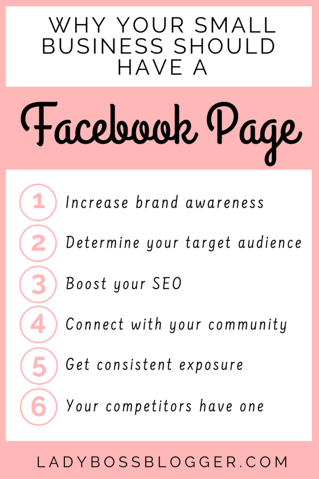 Small business Facebook Page LadyBossBlogger.com