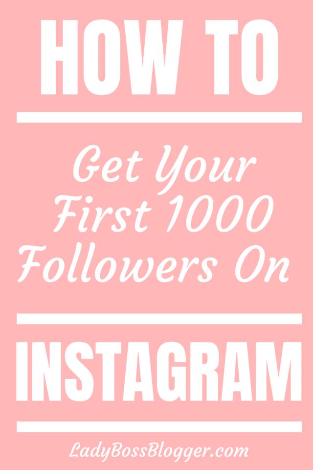 Followers Instagram LadyBossBlogger.com
