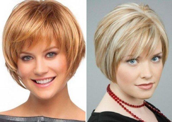 Стрижки для полного лица: фото до и после, идеи