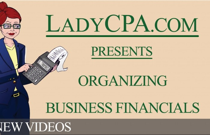 Organizing Business Financials – Video