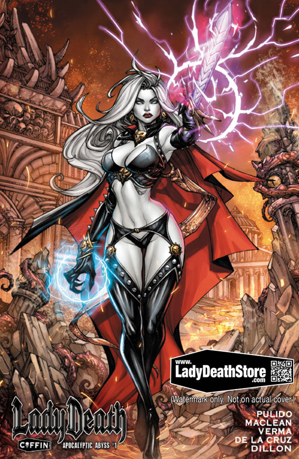 Lady Death The Official Website