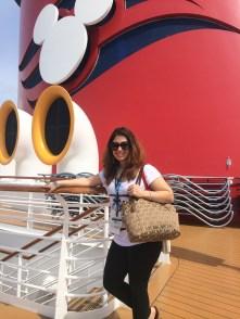 visiting the Disney Wonder