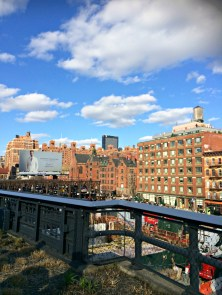View from the High Line