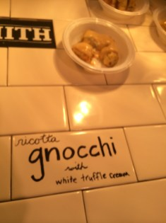 Gnocchi from the Smith.