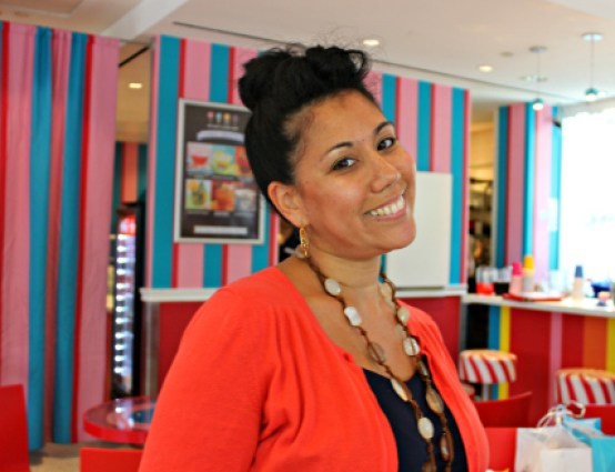 Our lovely host, Lisa Quinones-Fontanez