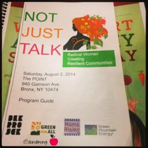 #NotJustTalk