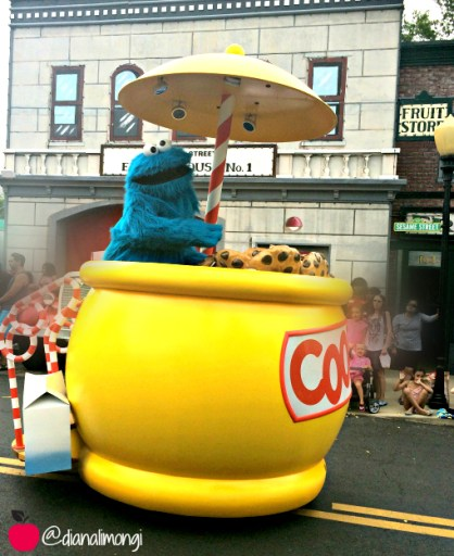 Sesame Place Parade 3