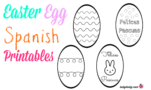 Free Easter Printables in Spanish