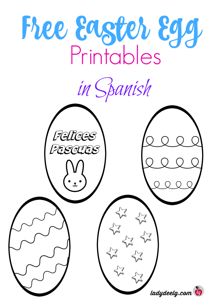 free easter printables in spanish. Black Bedroom Furniture Sets. Home Design Ideas