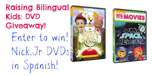 Raising Bilingual Kids: Your favorite Nick Jr  shows in
