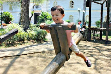 fun at parque historico