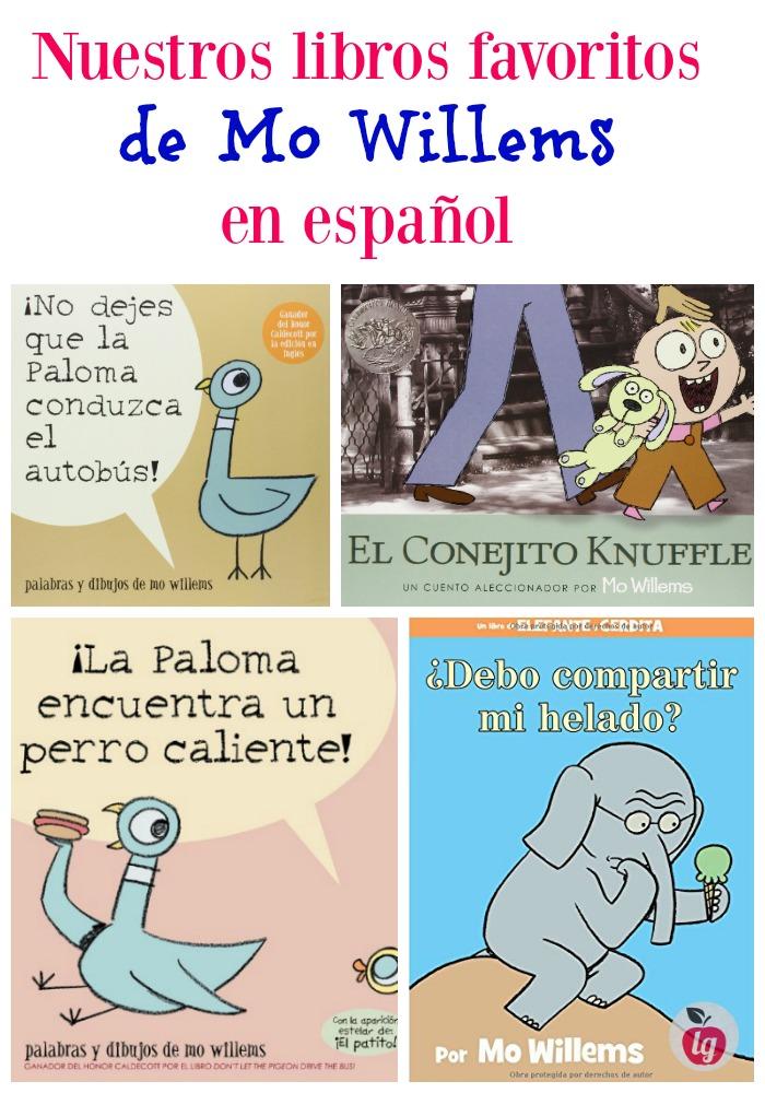 libros favoritos de mo willems en español