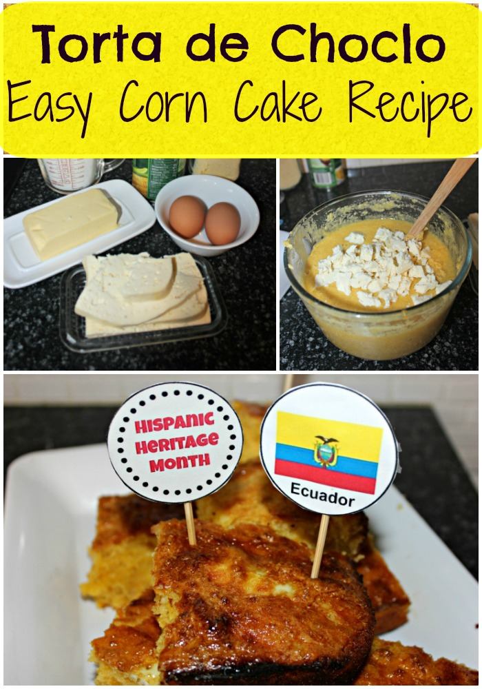 Choclo Corn Cake Recipe