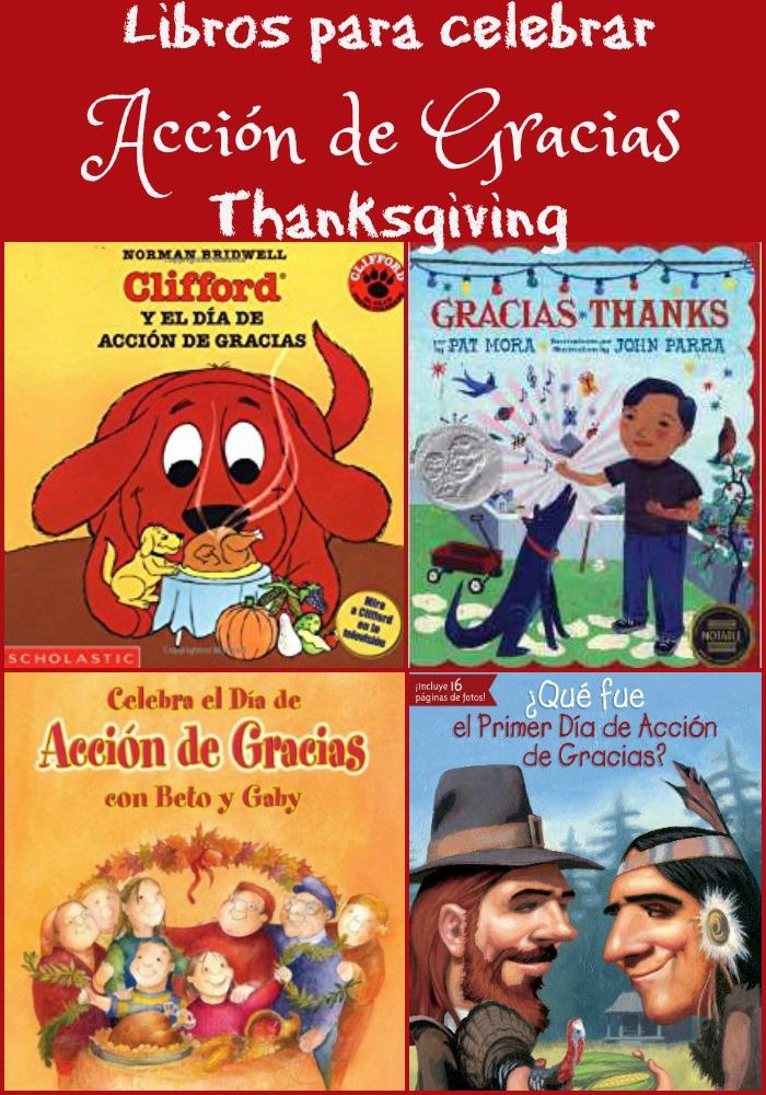 Libros en español sobre el Día de Acción de Gracias - Thanksgiving