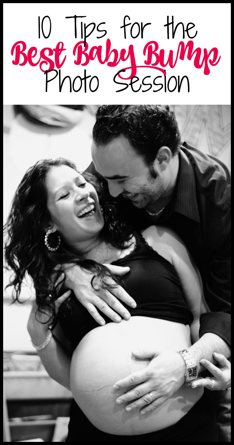 10 Tips for the Best Baby Bump Photo Session