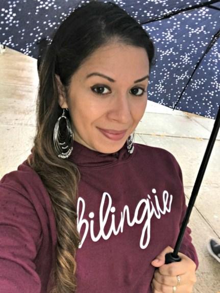 Bilingual hoodie