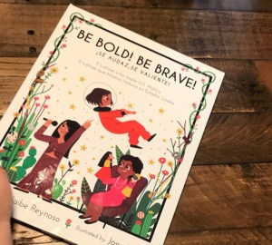 be bold be brave bilingual book review