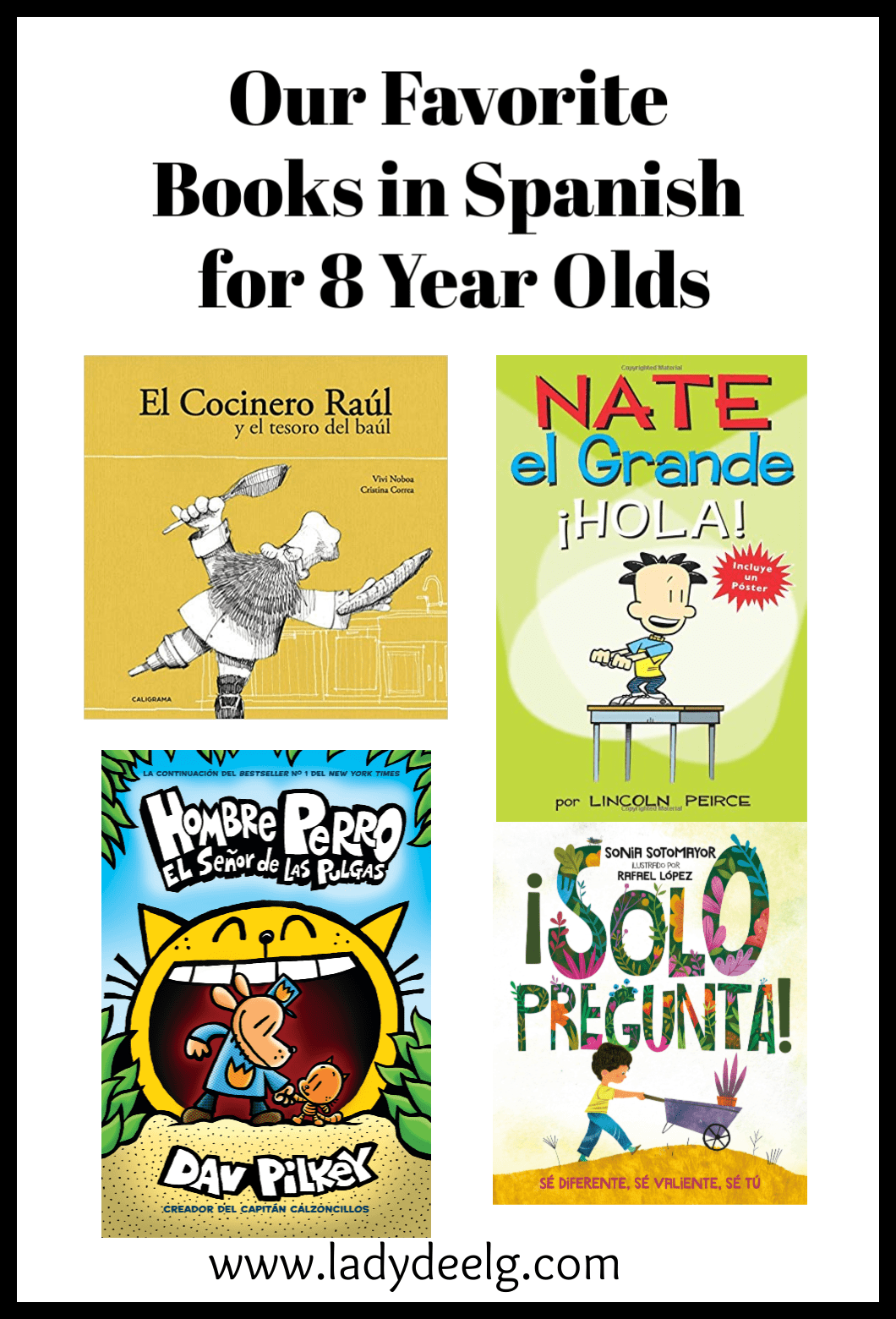 books in spanish for 8 year olds