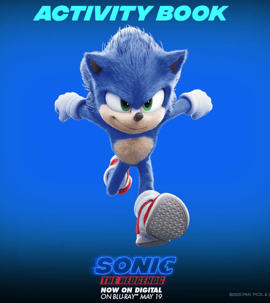 Sonic the Hedgehog Activity book