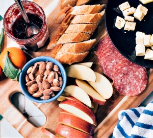 charcuterie board-fun holiday dinner