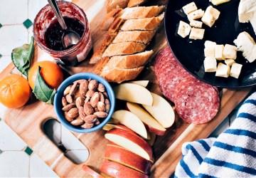 charcuterie board-fun holiday dinner
