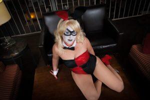 Bunny Harley Quinn by LadyDragon Creations
