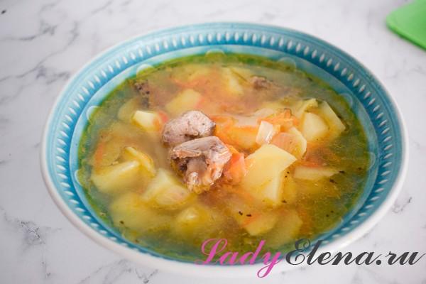 Суп с рыбными консервами: 3 рецепта с фото