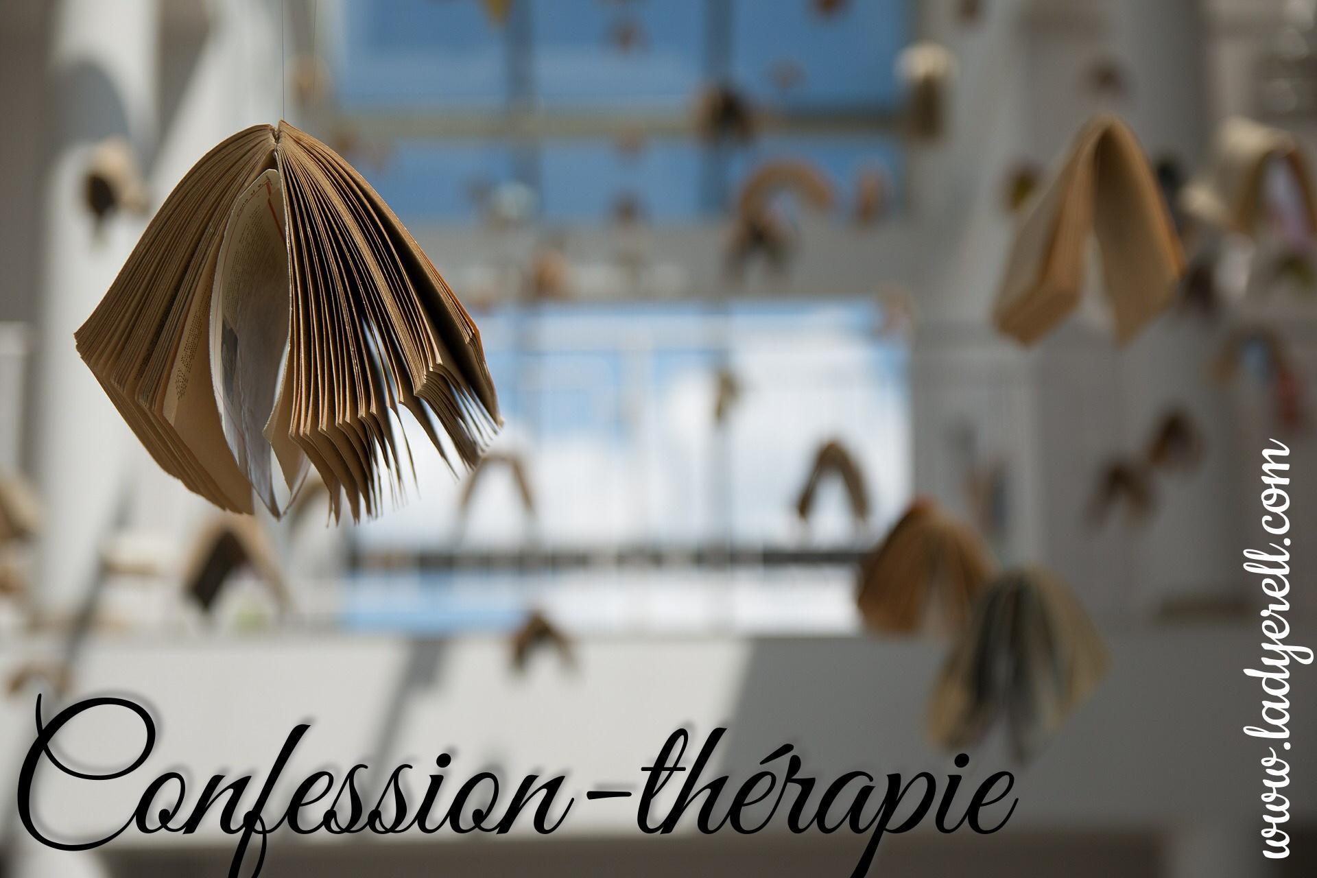 Thérapie écrit mot écrithérapie confessions confidences
