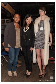 Cool vs Cruel Fashion Show by AI Vancouver with Stylista Owner Esther Tang and Brianne Thompson of Jacqueline Conoir