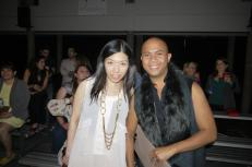 Esther Tang of Stylista and LADY during Vancouver Fashion Week
