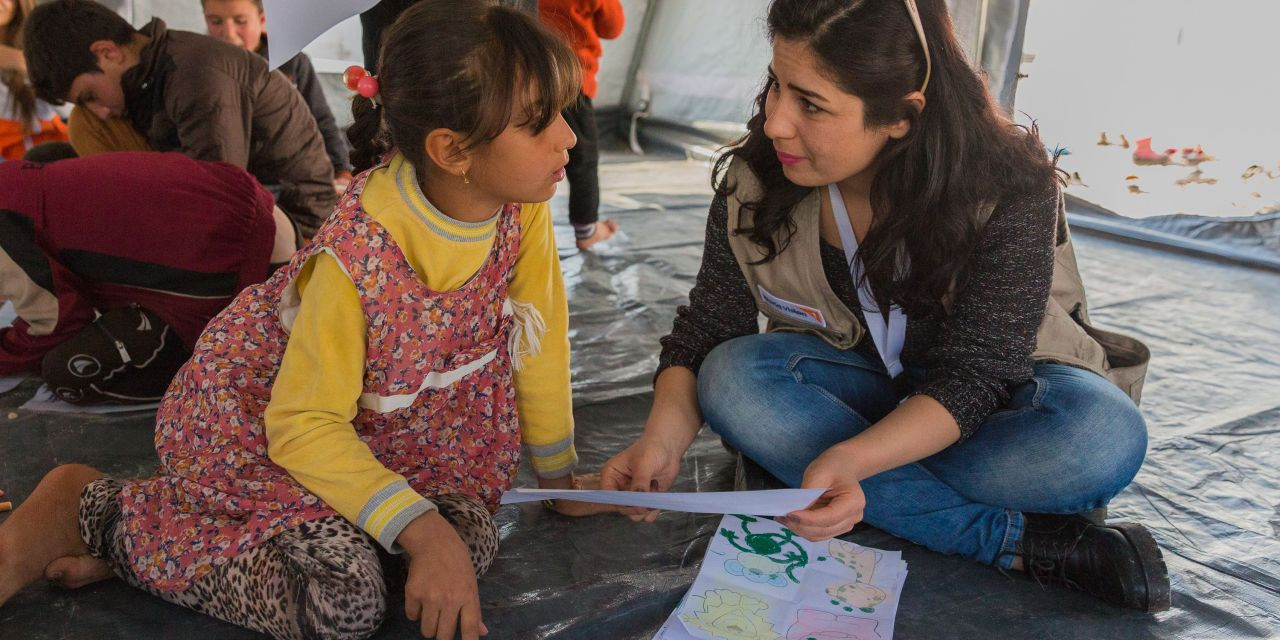 Heartwrencher: The Children of Mosul Tell Their Stories in Video and Drawings