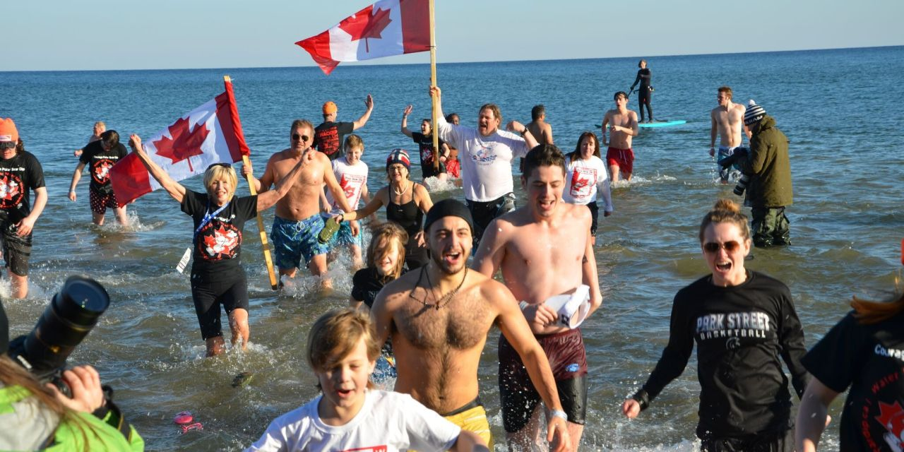 Icy Polar Bear Dip Raises Nearly $150,000 for Clean Water