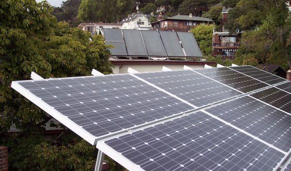 solar power in California