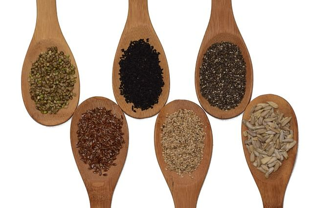 Seeds are surprisingly high in protein.