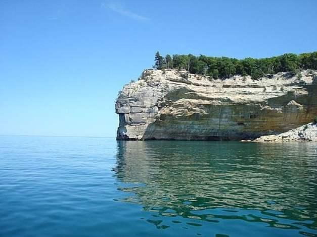 Pictured Rocks, Michigan.
