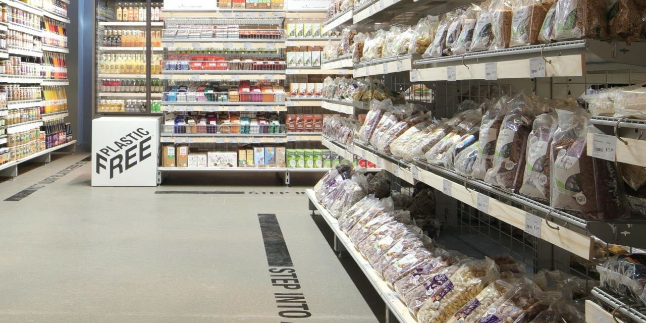 Welcome to the World's First Plastic-Free Supermarket Aisle