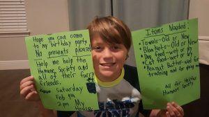 Ryder Kuhlman's birthday wish list