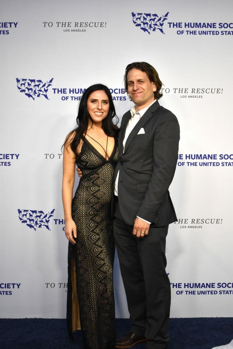 Nina Jackel and Ben Jackel Humane Society Gala Lady Freethinker