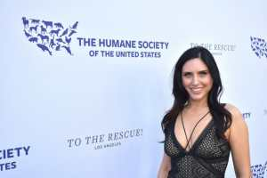 Nina Jackel Lady Freethinker Humane Society Red Carpet